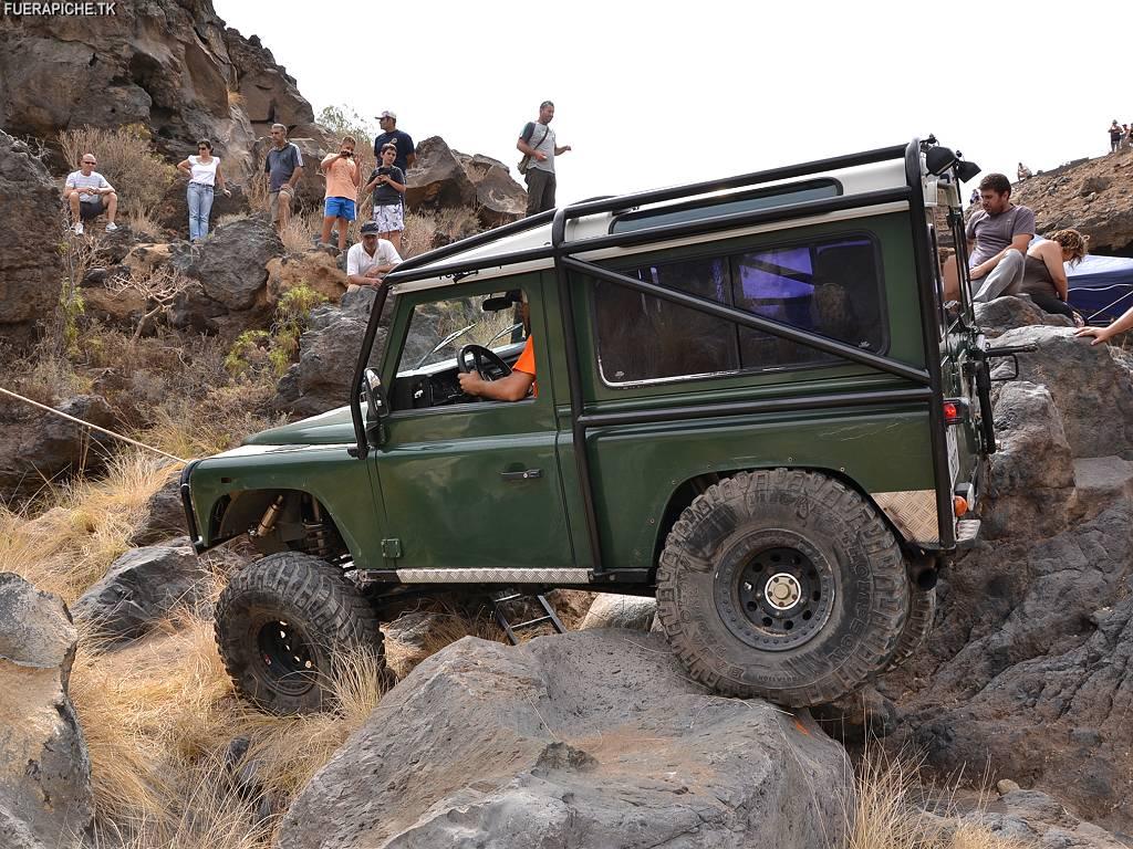 Fotos Land Rover Defender 90 Trial 4x4
