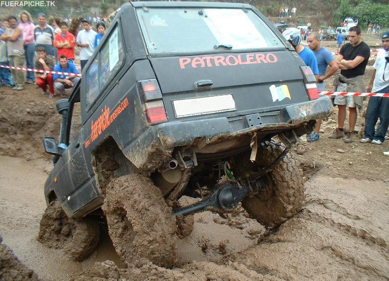 ... patrol en trial jeep land rover motor nissan patrol en trial offroad