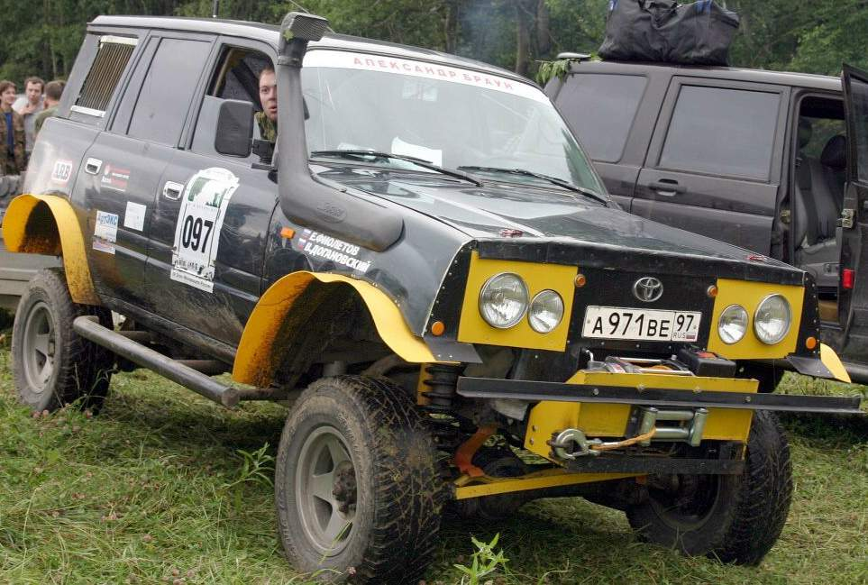 Toyota land cruiser tuning 4x4