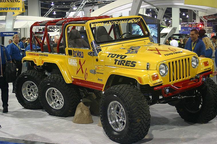 Fotos Jeep Wrangler 6x6 Pics